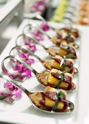 Orlando catering services event caterers dr phillips for Hot canape ideas